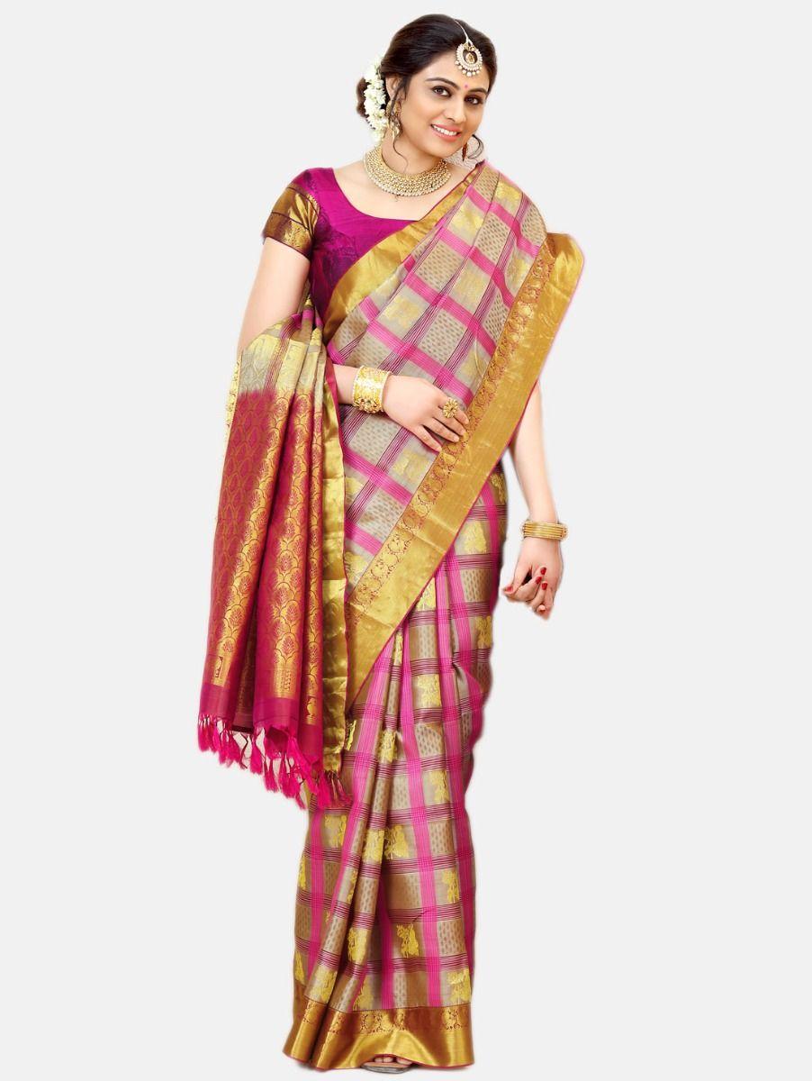 Vipanji Traditional Silk Saree