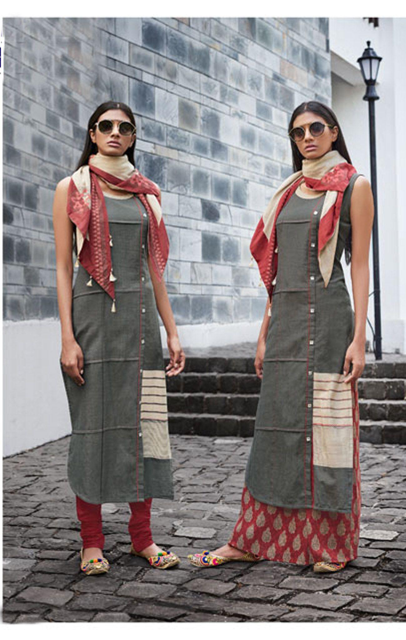 Cotton Readymade Salwar Kameez-RSK9895