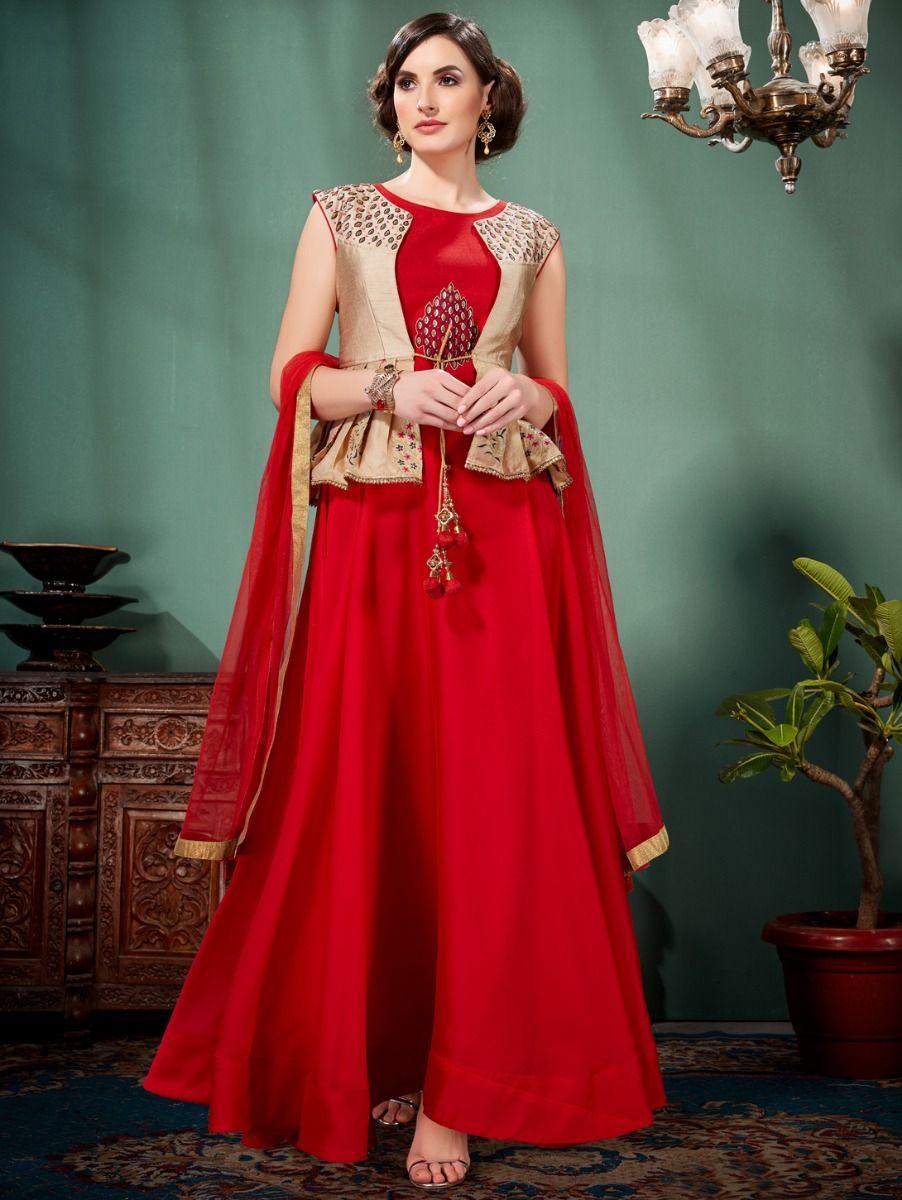 Kyathi Women's Exclusive Readymade Salwar Kameez - TUPC04