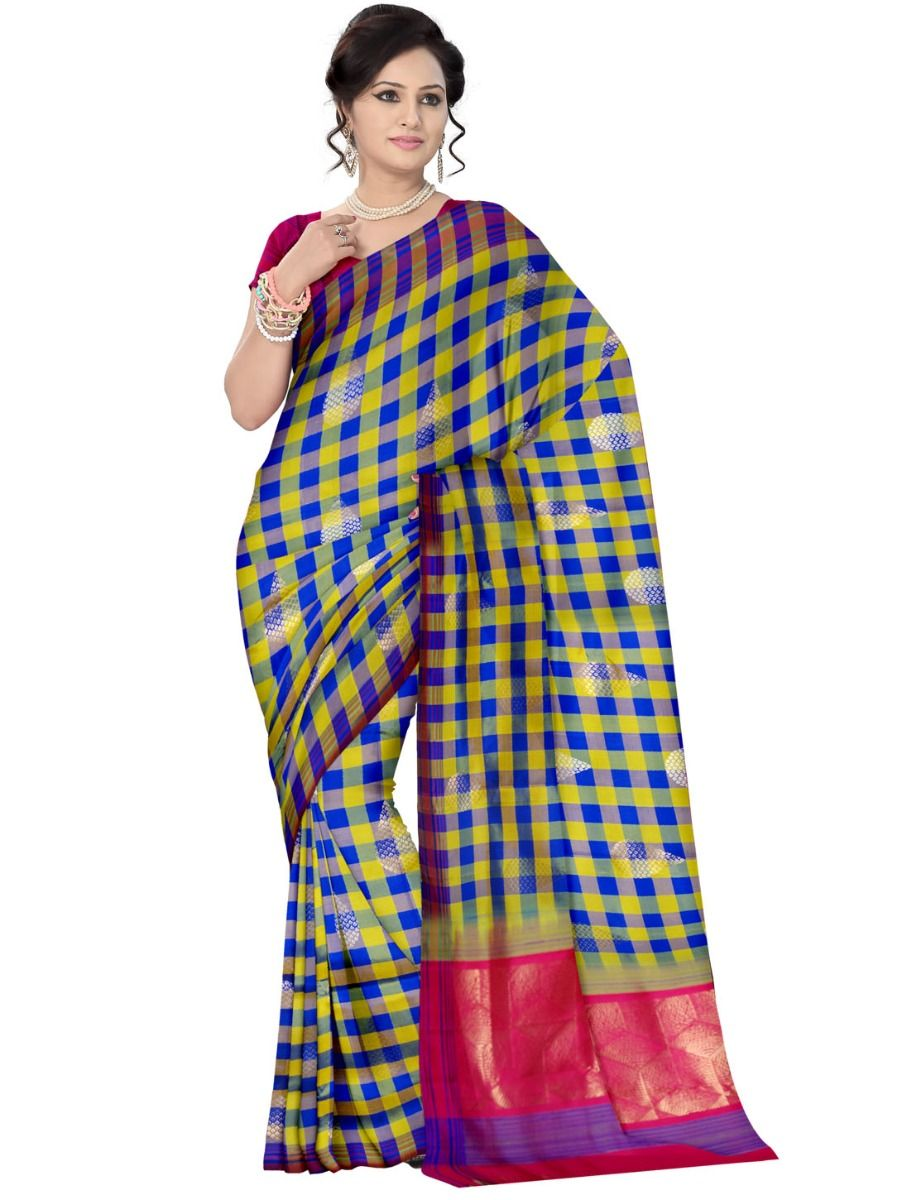 2686b5e4d78 Kanmanie Pure Soft Silk Saree. Double tap to zoom