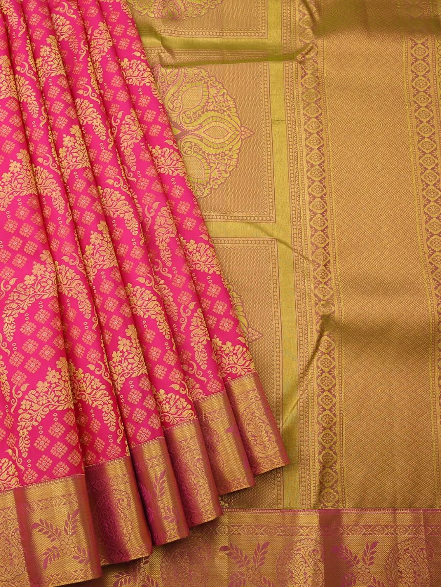 Vivaha Kanchipuram Pure Silk Saree - LFD6844161