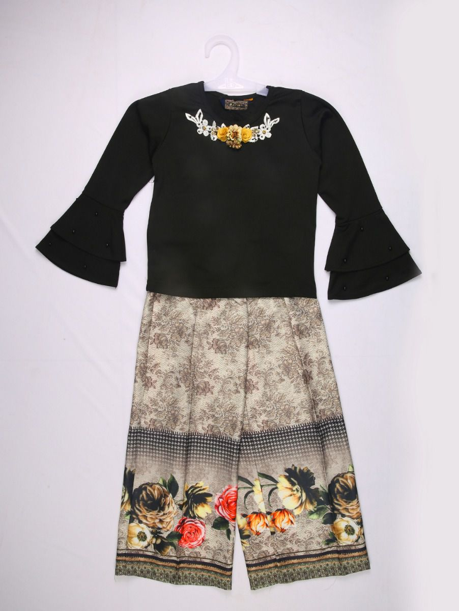Girls Western wear Imported Top & Trousers