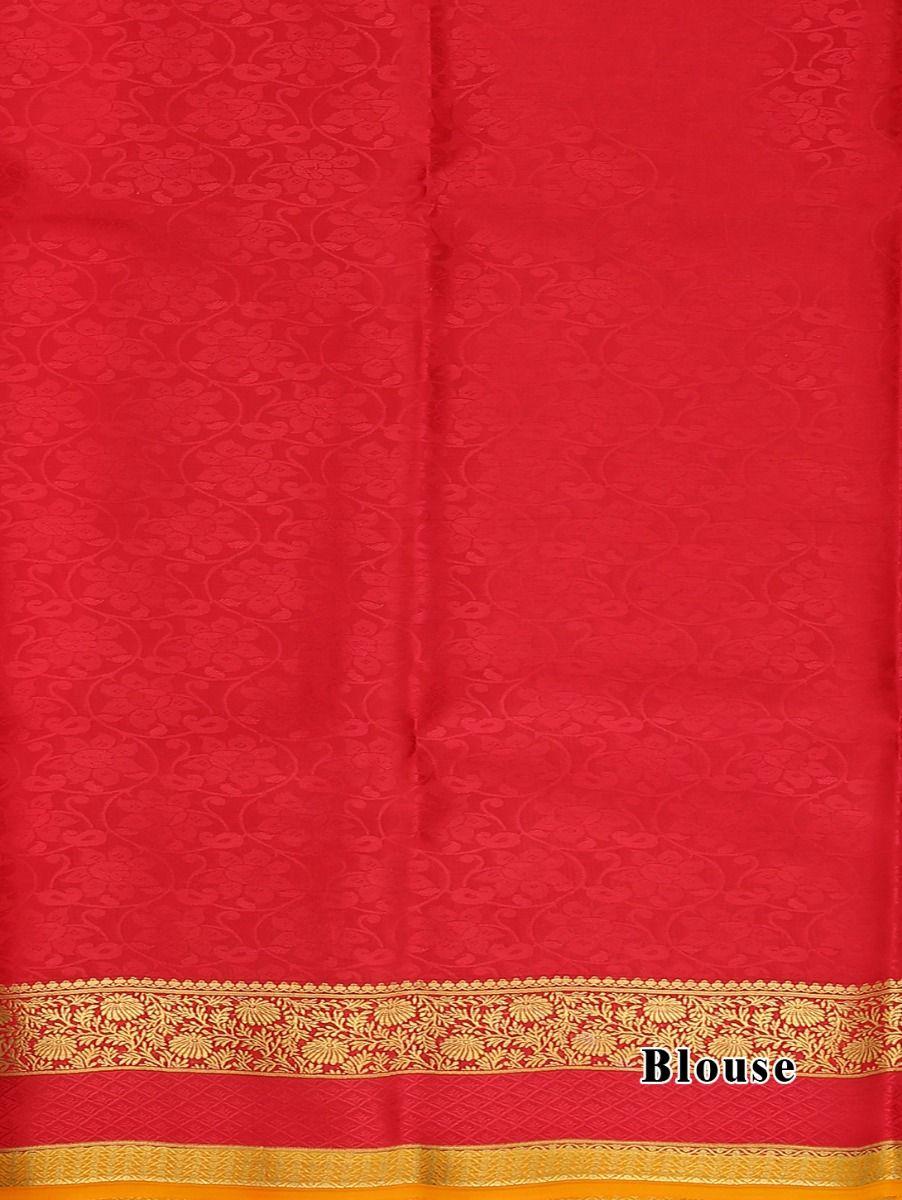 d1a52e3c938 Kyathi Mysore Silk Cream Color Saree · Kyathi Mysore Silk Cream Color Saree.  Double tap to zoom