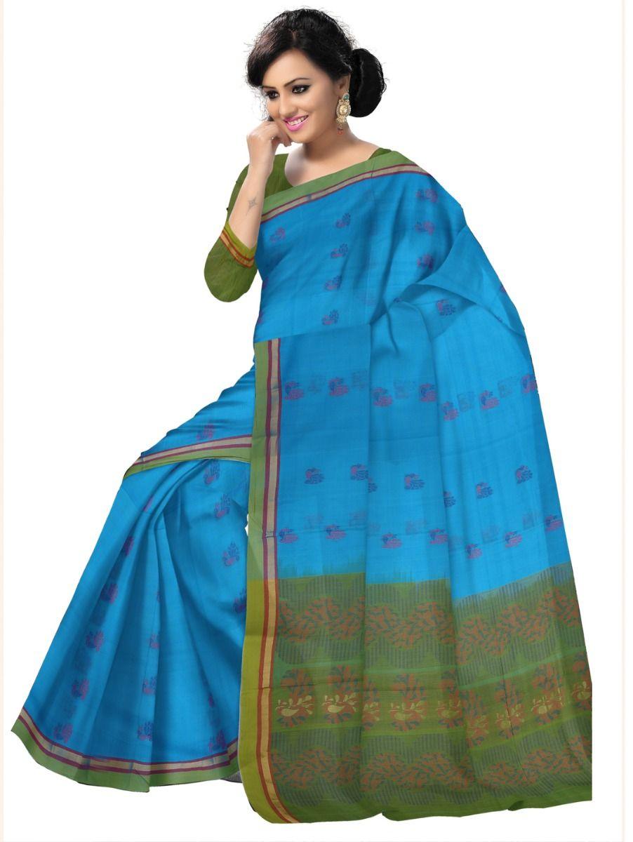 Chamelli Exclusive Negamam Cotton Saree