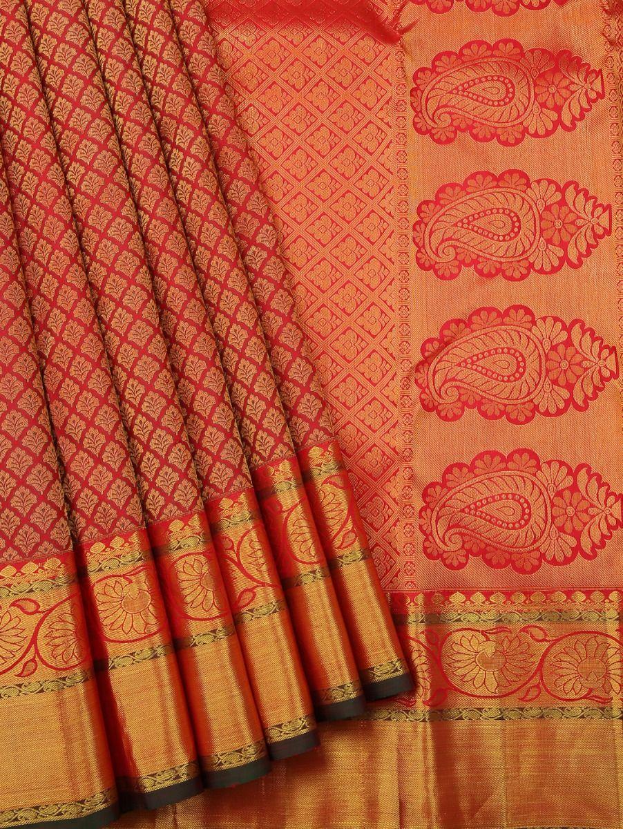 Vivaha Kanchipuram Pure Silk Saree - LJB8793125