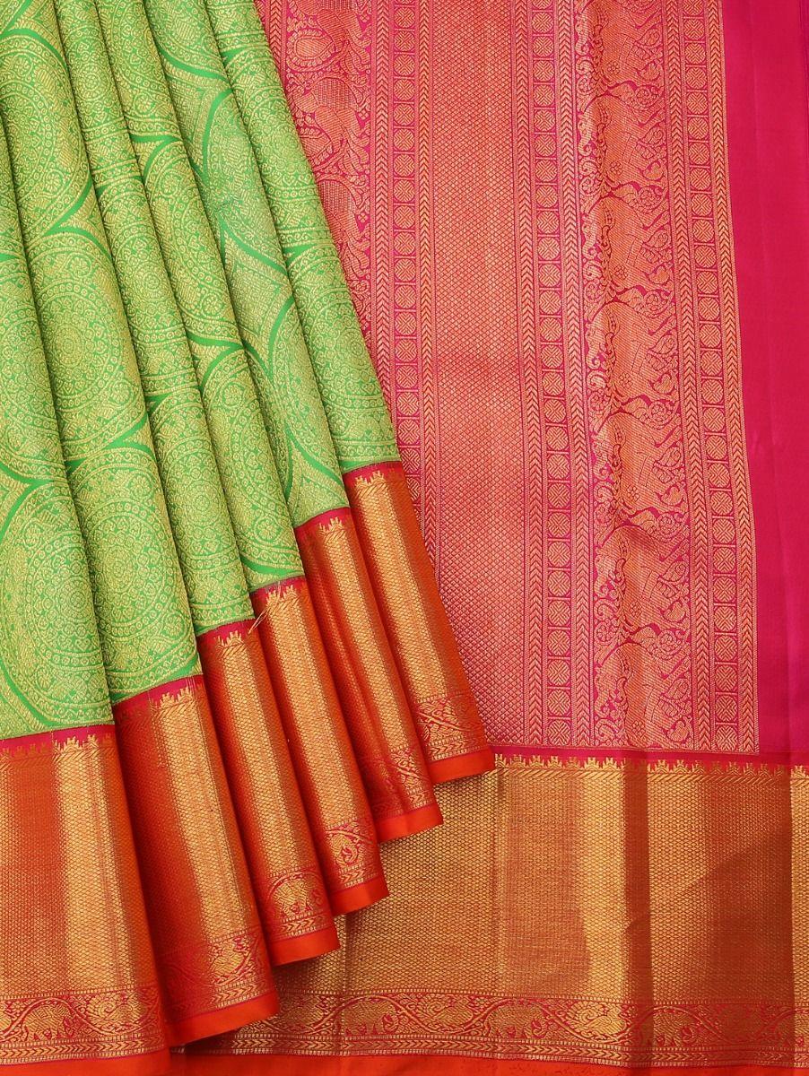 Vivaha Kanchipuram Pure Silk Saree - LJC9092306