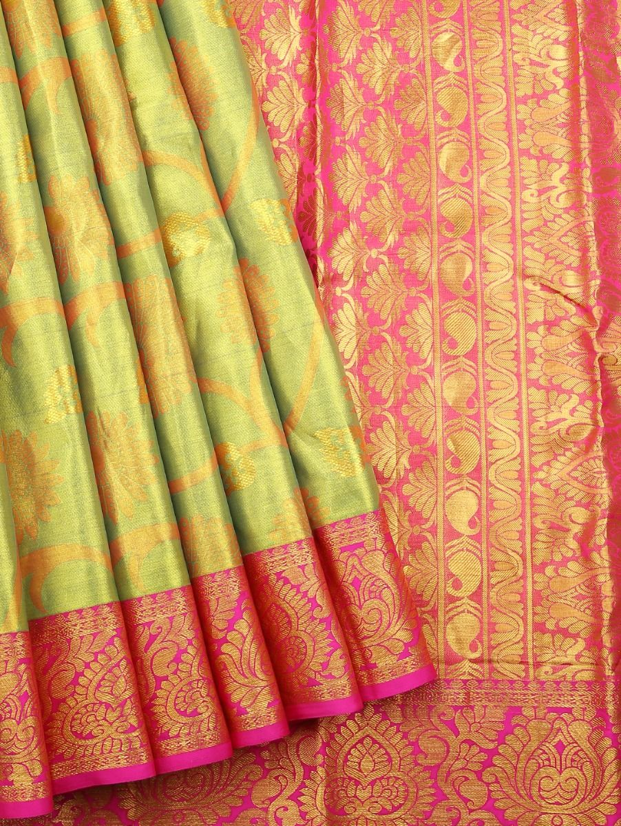 Vivaha Kanchipuram Pure Silk Saree - LKB3460883