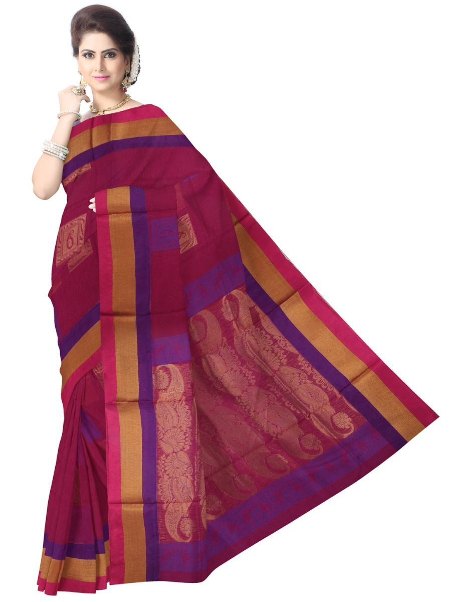 Chamelli Silk Cotton Saree