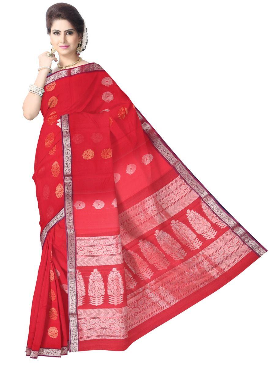 Chamelli Exclusive Kora Cotton Saree - LLD6816253