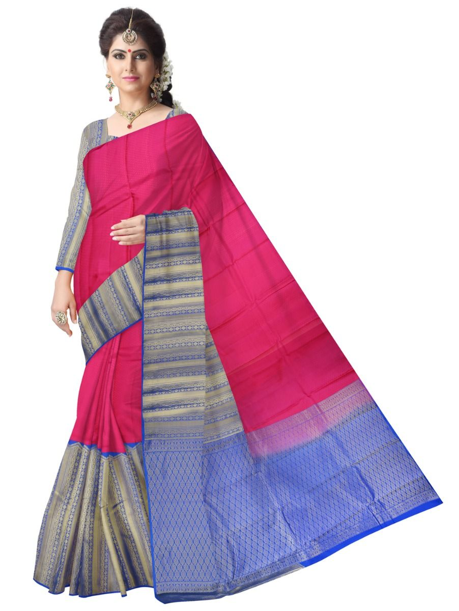 ef7928a514f Traditional Silk Saree - MAA0269611. Double tap to zoom