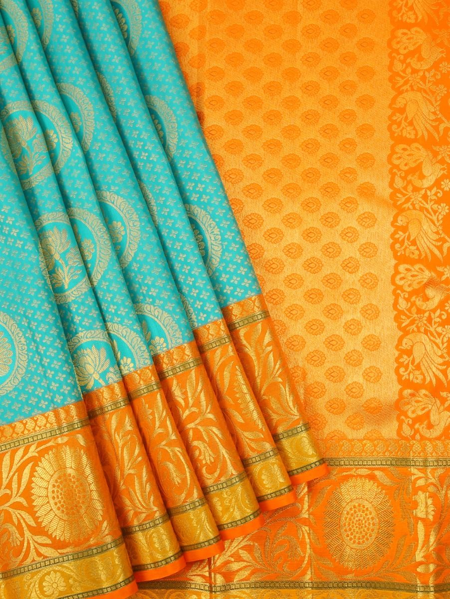 Vivaha Kanchipuram Pure Silk Saree - MAA0390817