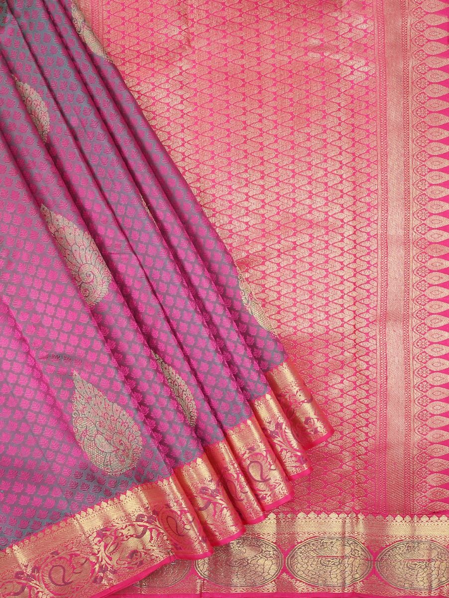 Vivaha Kanchipuram Pure Silk Saree - MAA0604596