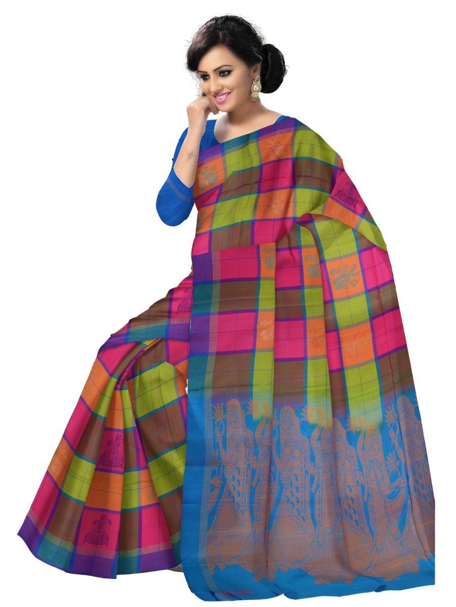 Kanmani Soft Silk Saree