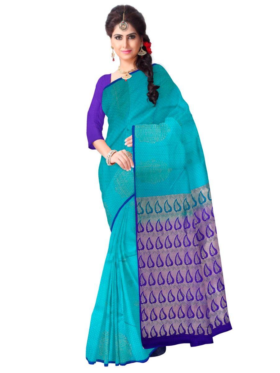 MAE4382685 - Vipanji Traditional Silk Saree