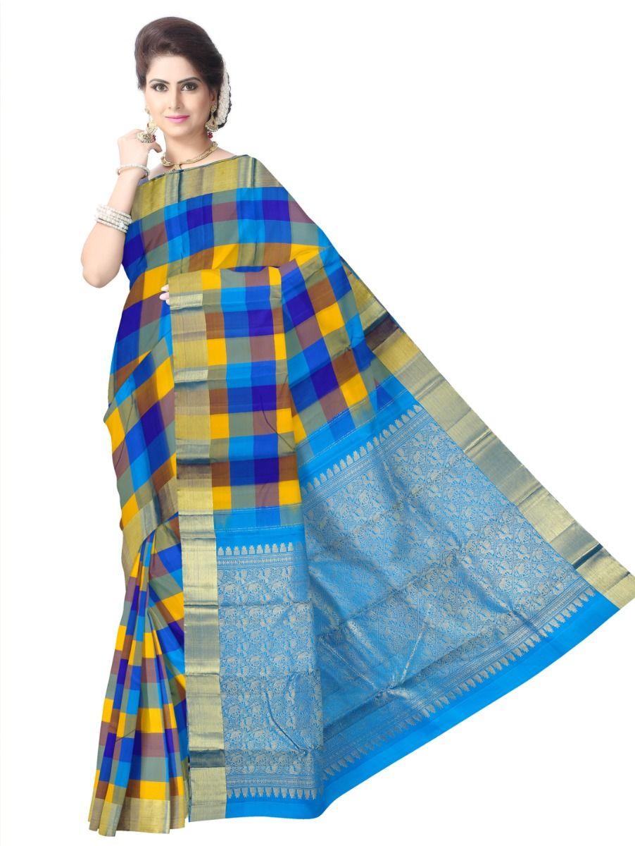 Bairavi Traditional Multi Silk Saree