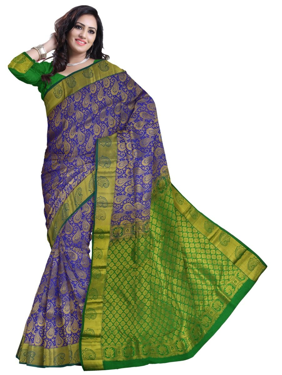 MCB9013868 - Vipanji Traditional Silk Saree