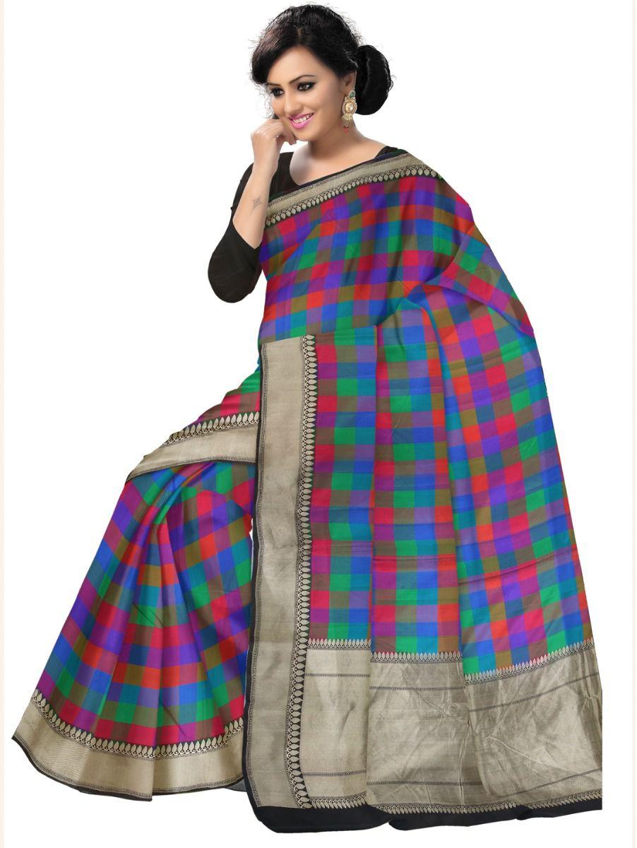 Kyathi Handloom Pure Banarasi Silk Saree