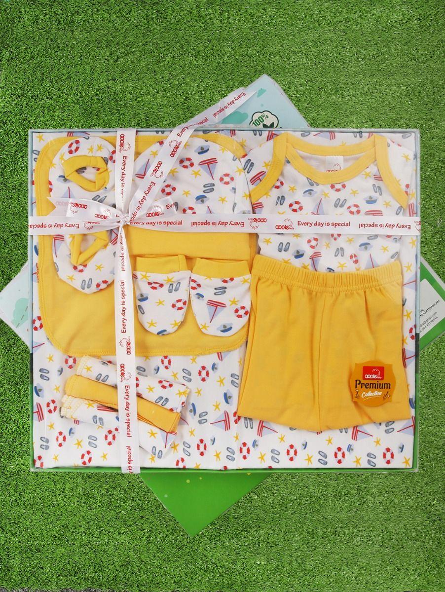Infant Essentials Cotton Cloths Gift Set - 10 Pieces