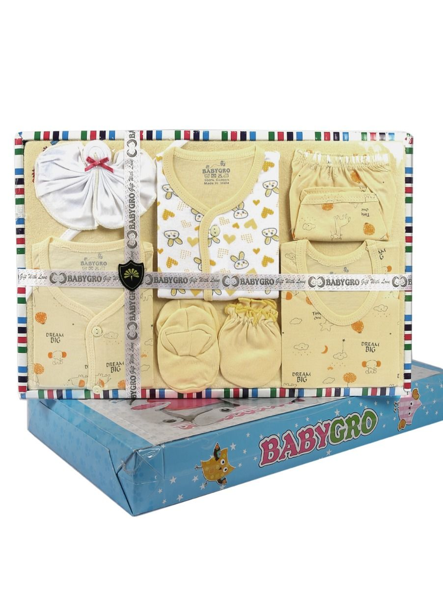 Infant Essentials Cotton Cloths Gift Set - 8 Pieces