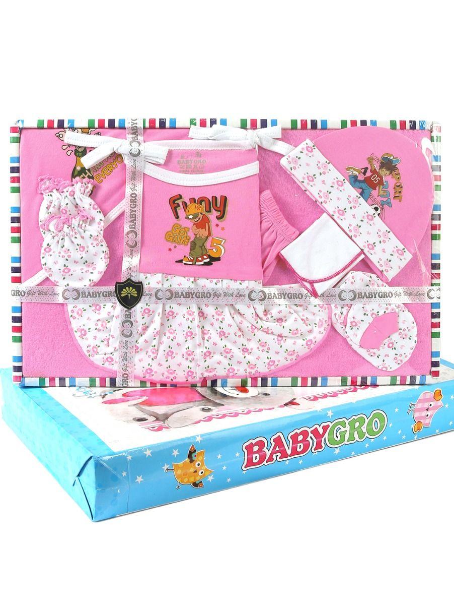 Infant Essentials Cotton Cloths Gift Set - 8 Pieces