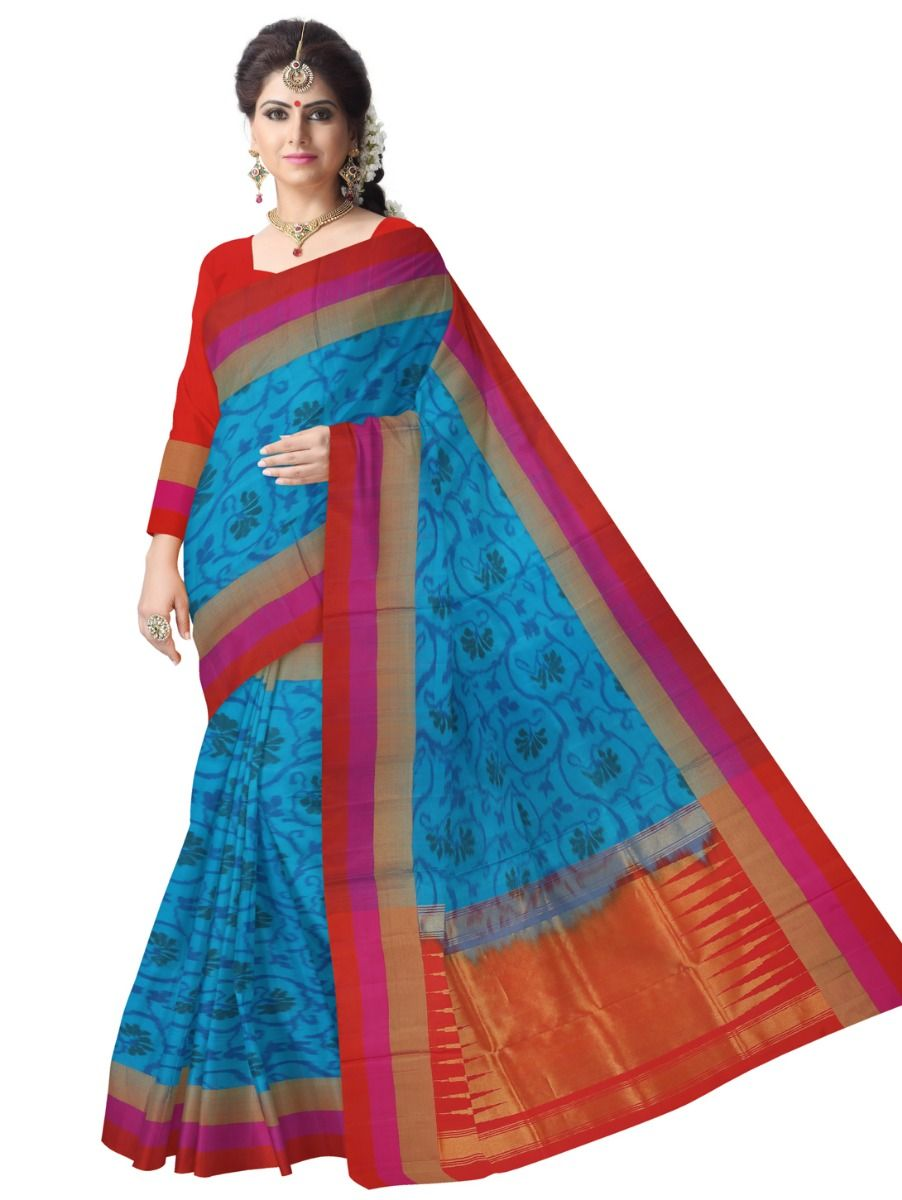 MDB1841828 - Pochampally Design Soft Silk Saree