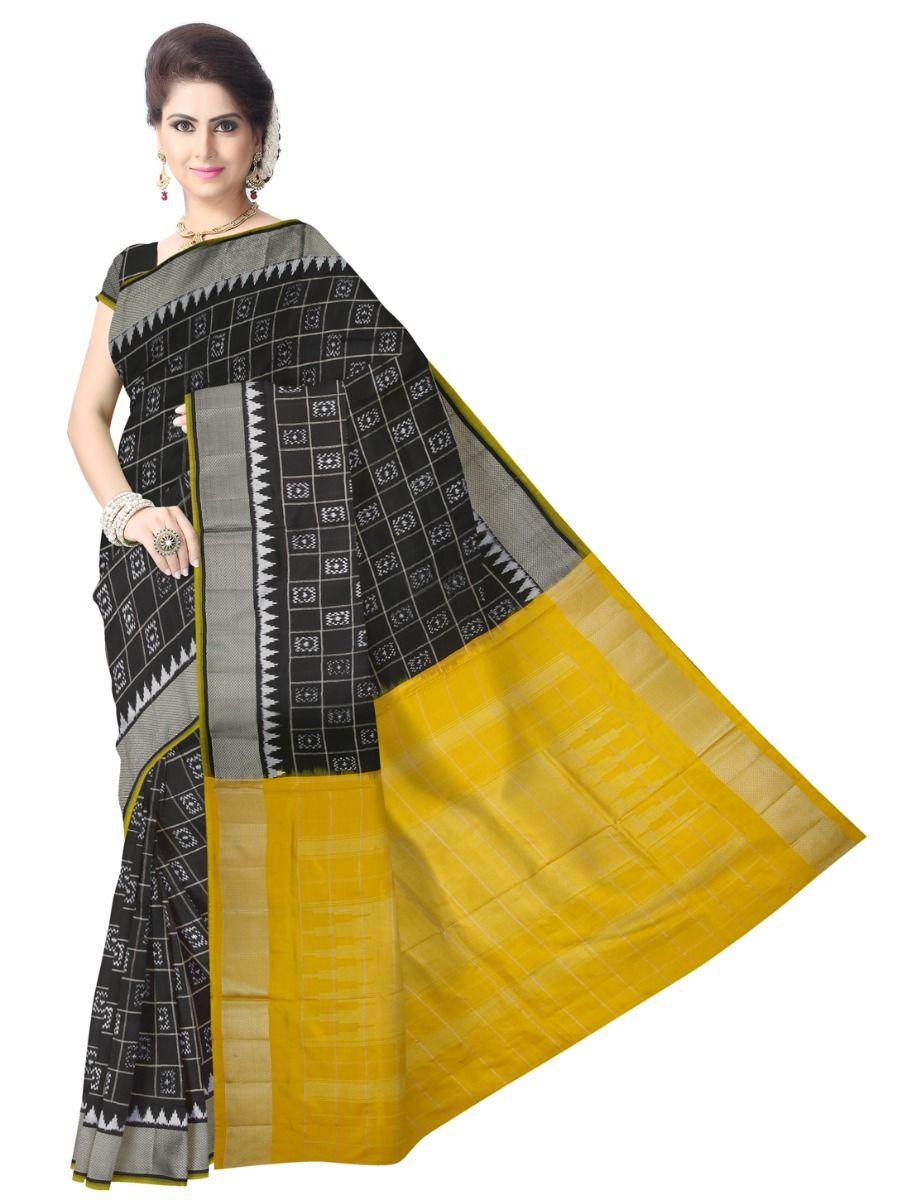 MEB6305418 - Pochampalli Ikat Silk Saree