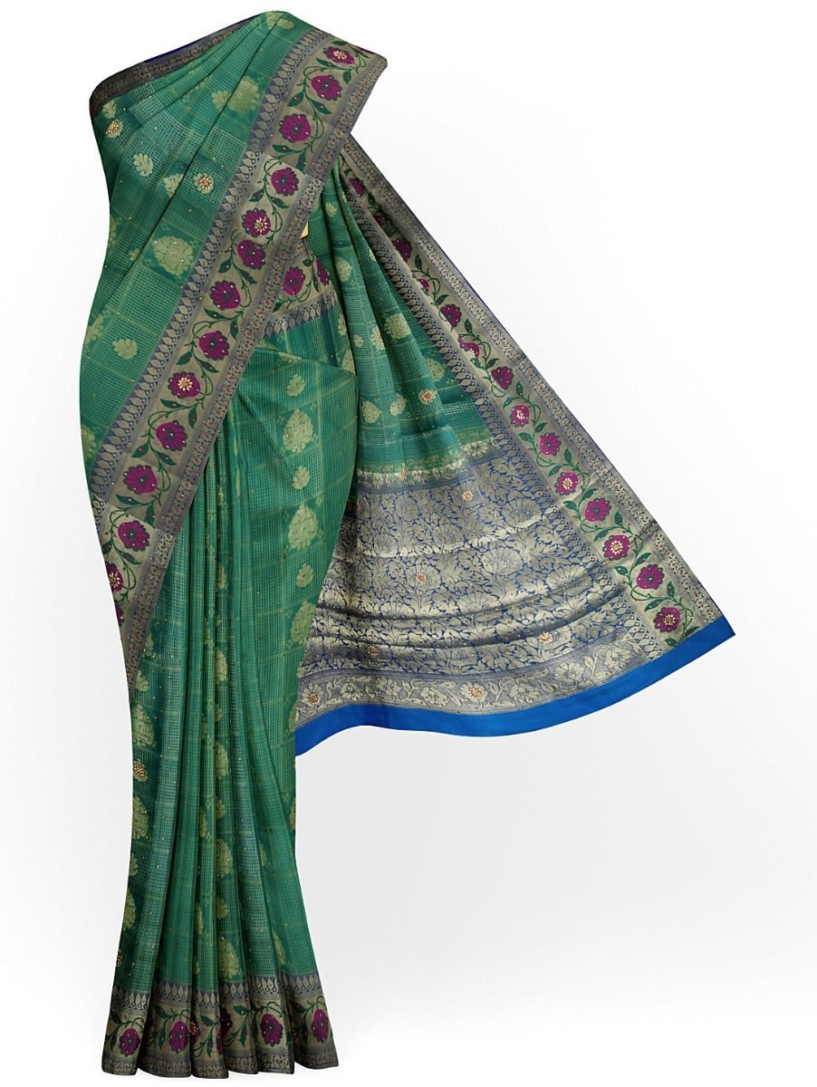 MFB4035061- Fancy Banarasi Silk Stonework Saree