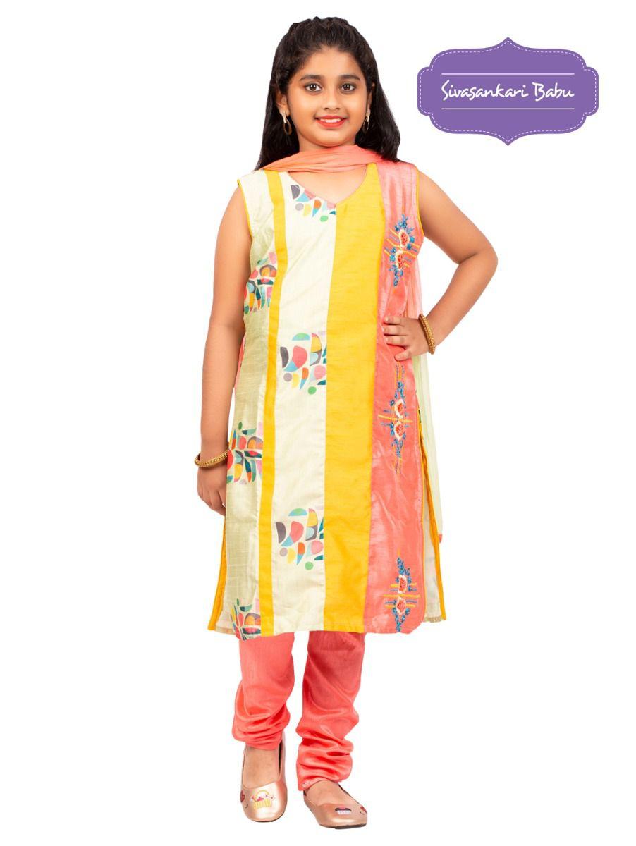 Sivasankari Babu Girls Salwar Kameez - TUPMGB9596676