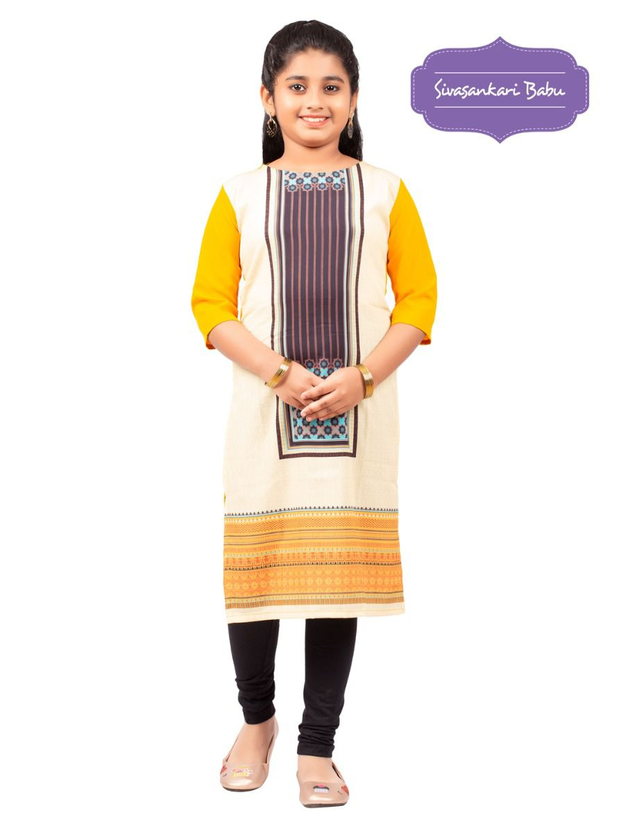 Sivasankari Babu Girls Tops - MGC9941904