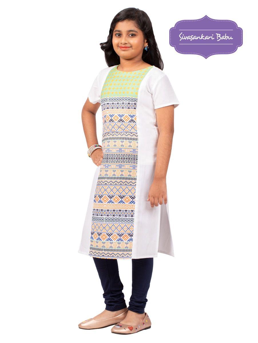 Sivasankari Babu Girls Tops - TUPMGC9941988
