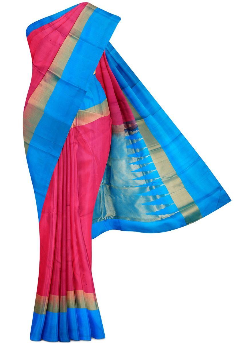 MHB1526505-Uppada Traditional Silk Saree