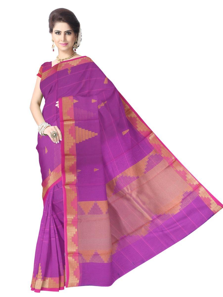 Chamelli Fancy Silk Cotton Saree