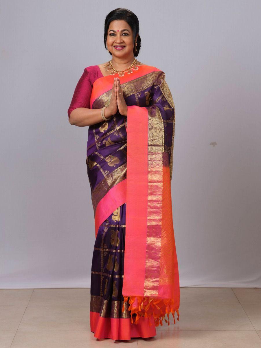 Vipanji Exclusive Traditional Silk Saree