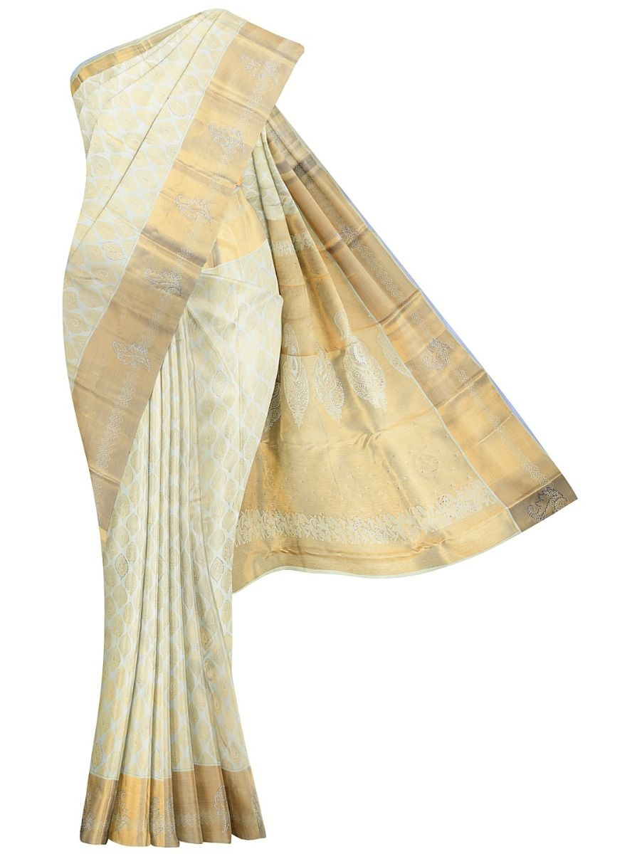 MHC1933624-Vivaha Stonework Wedding Silk Saree