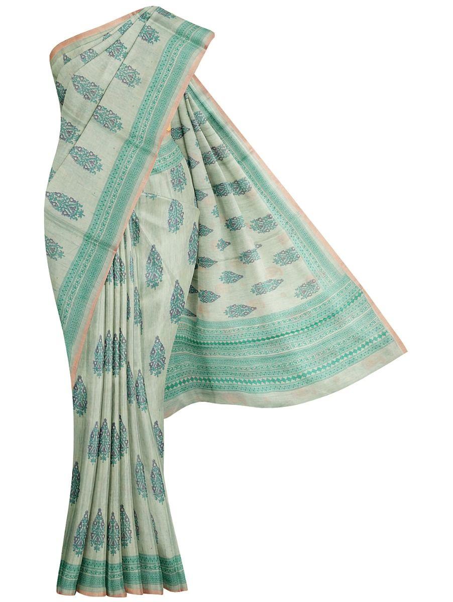 Fancy Tussar Silk Saree