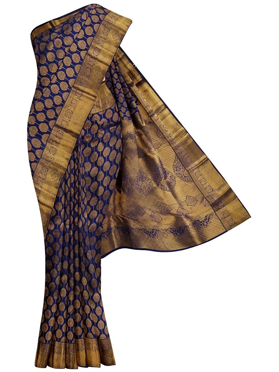 Vivaha Wedding Silk Stone Work Saree