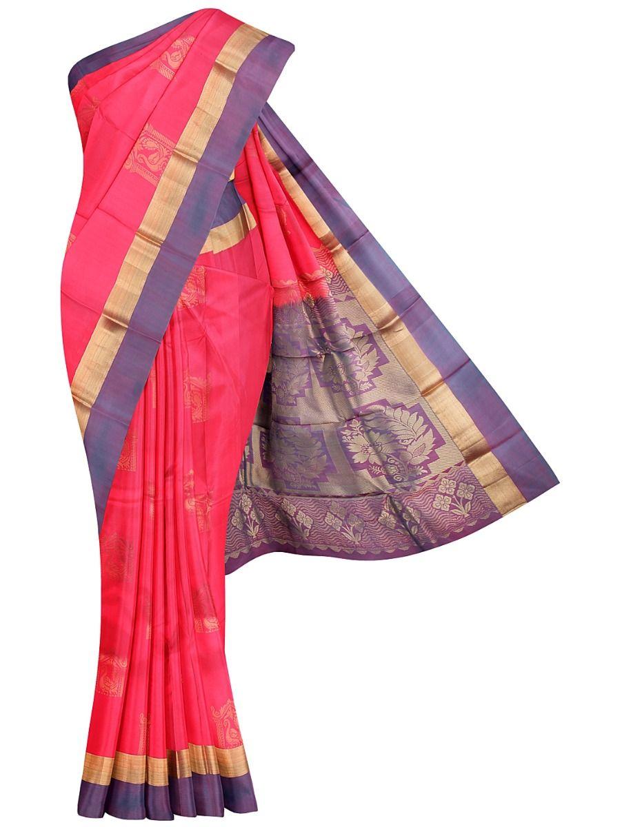 Traditional Uppada Silk Saree