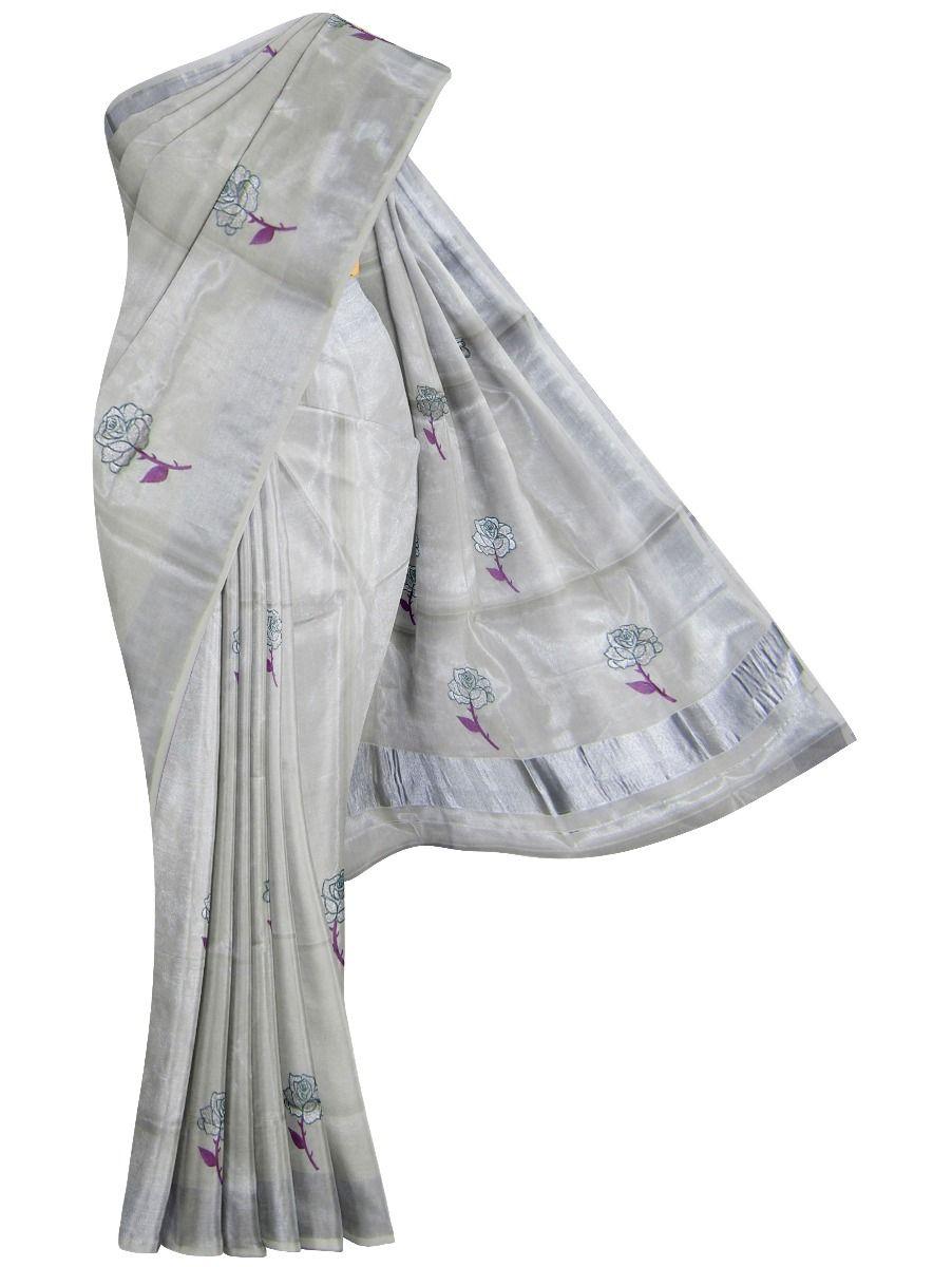 Women's Kerala Traditional Saree - EKM