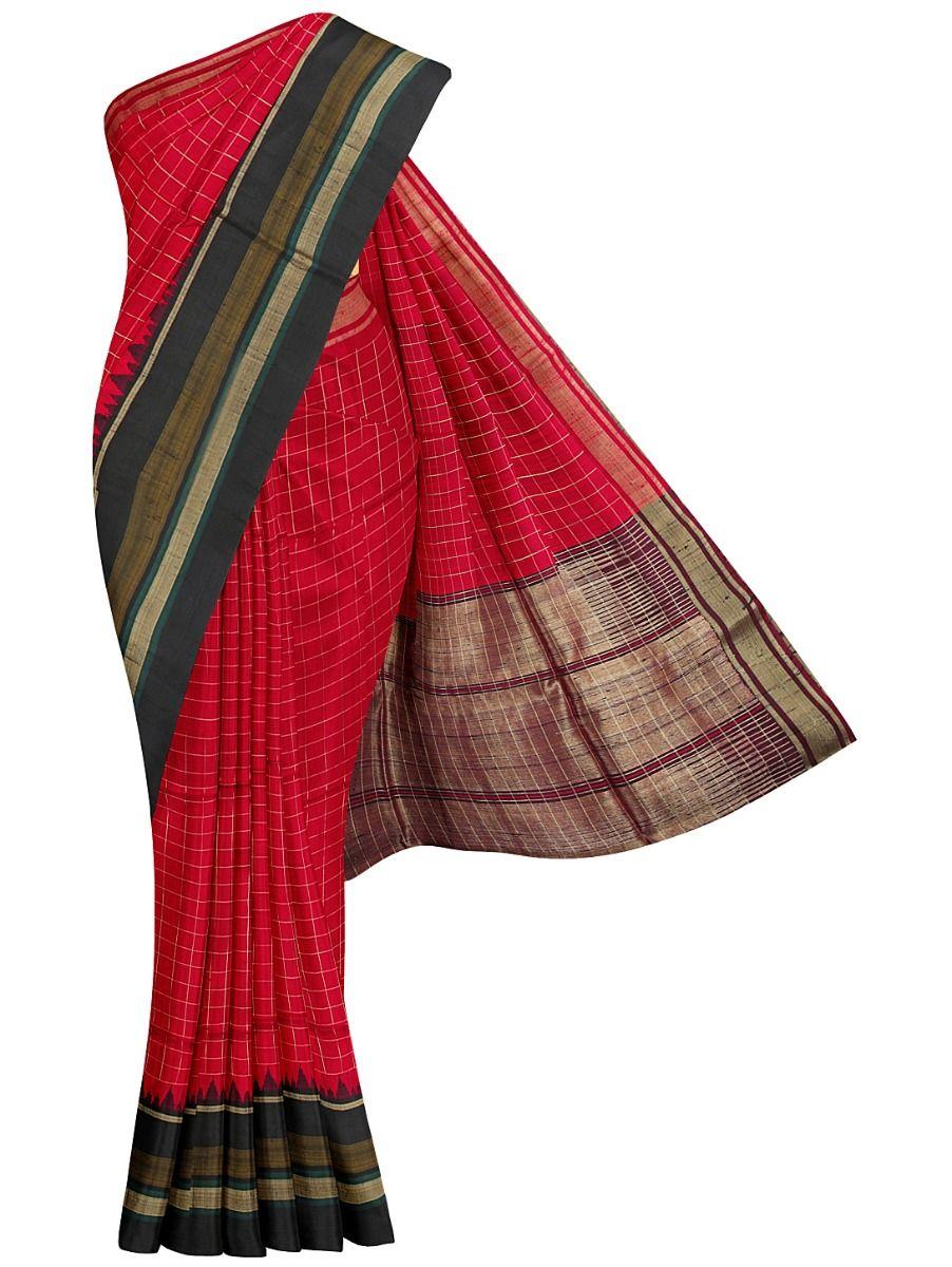 Dupion Silk Weaving Saree