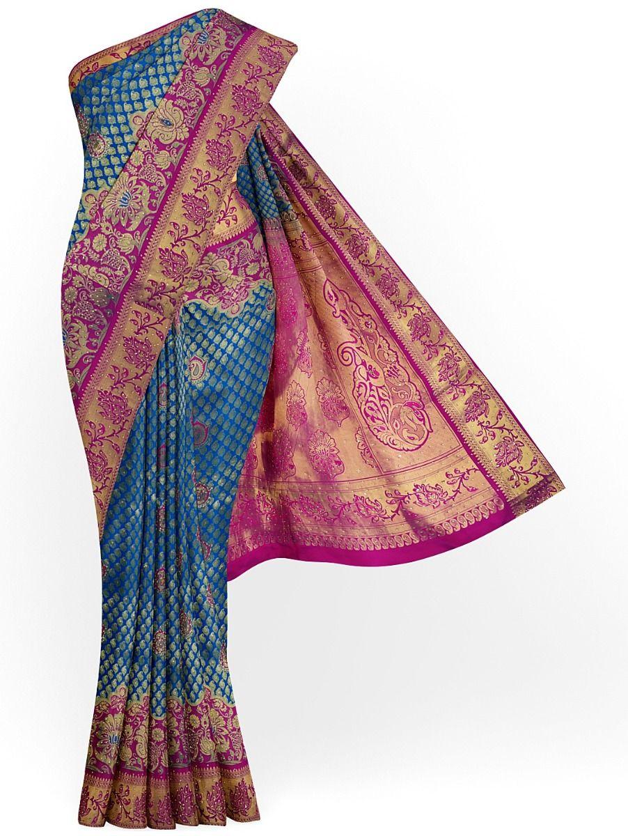 MDC2581402 - Fancy Stonework Art Silk Saree