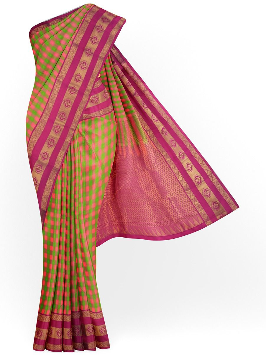 MHB1867089-Vipanji Traditional Silk Saree