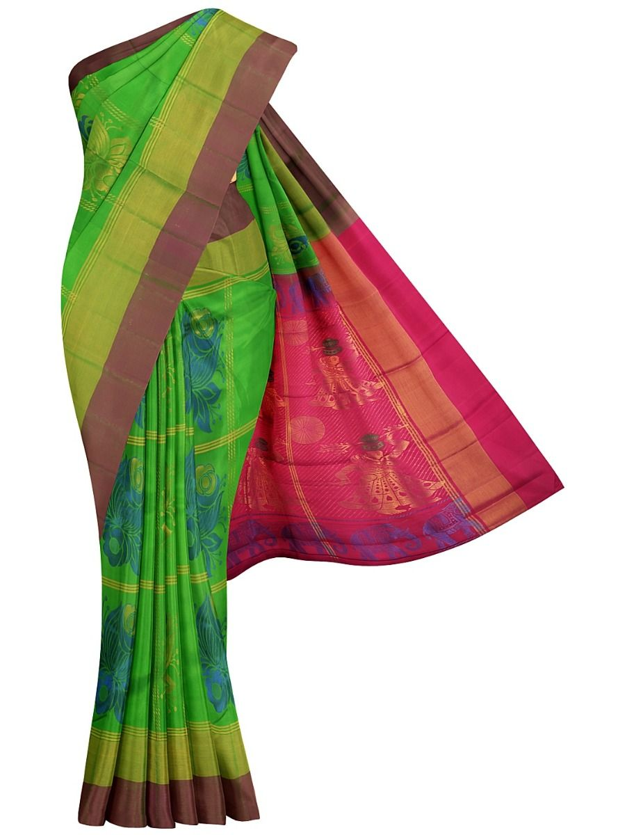 Bairavi Gift Art Soft Silk Saree - MHD2502367