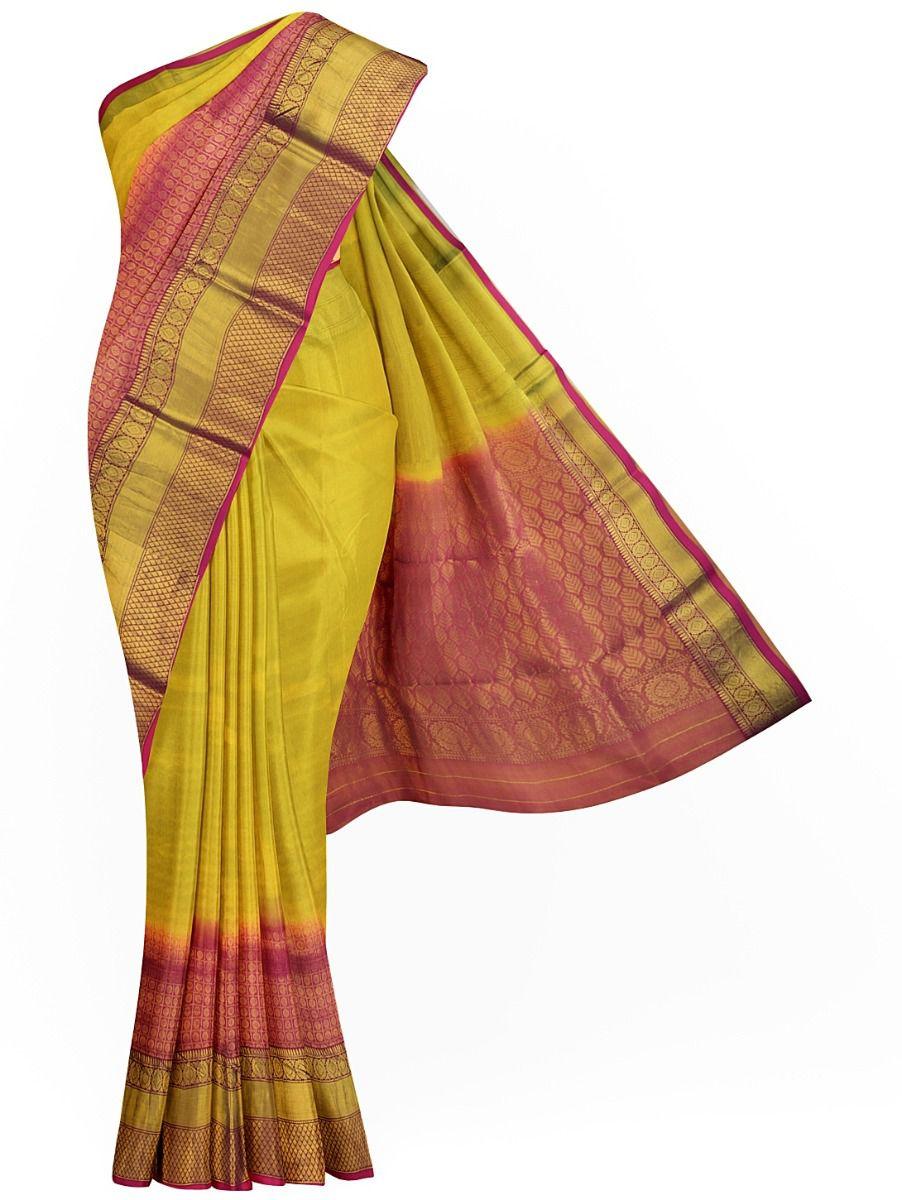 MID4843796-Sahithyam Dupion Tussar Silk Saree