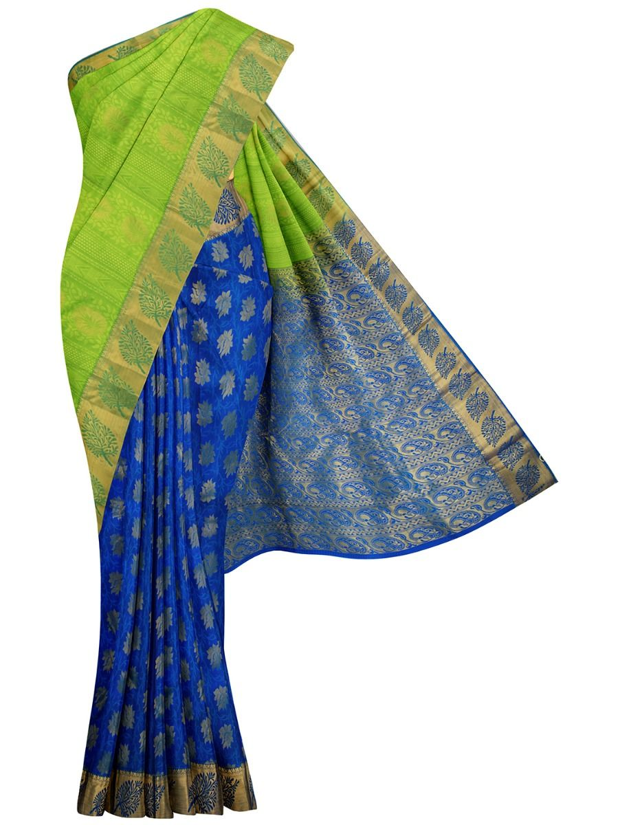 MID5570272-Vipanji Traditional Half and Half Design Silk Saree
