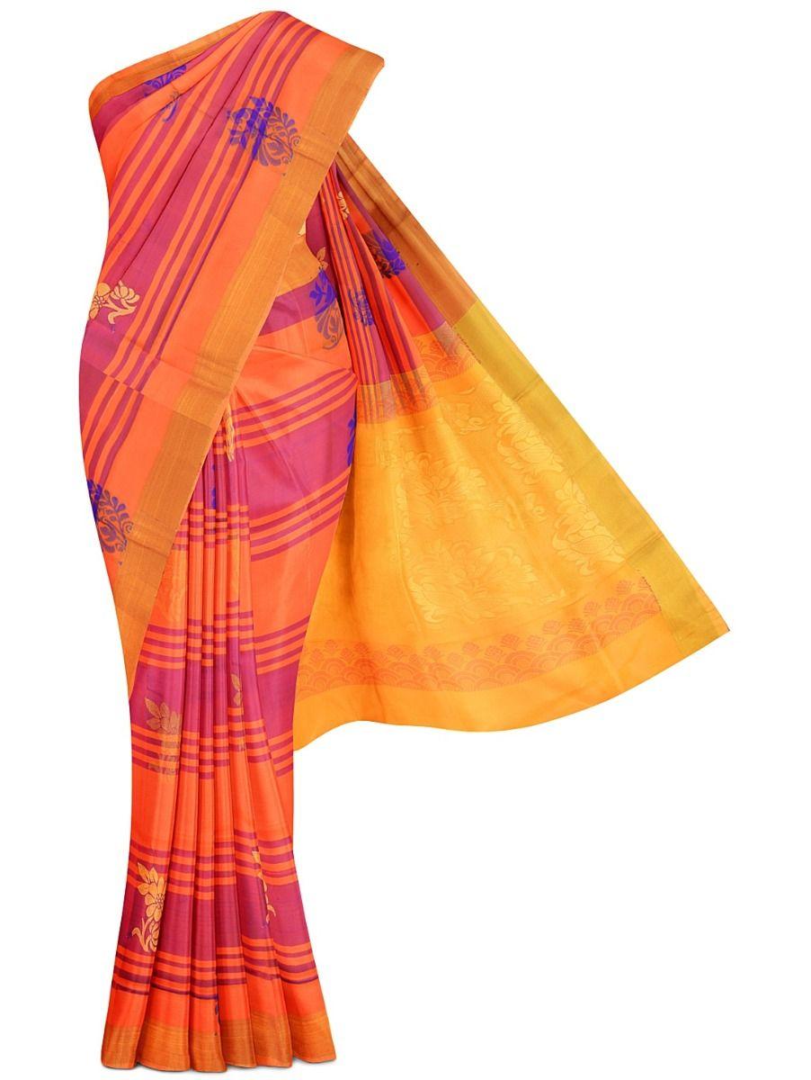 MED8901567-Soft Silk Saree