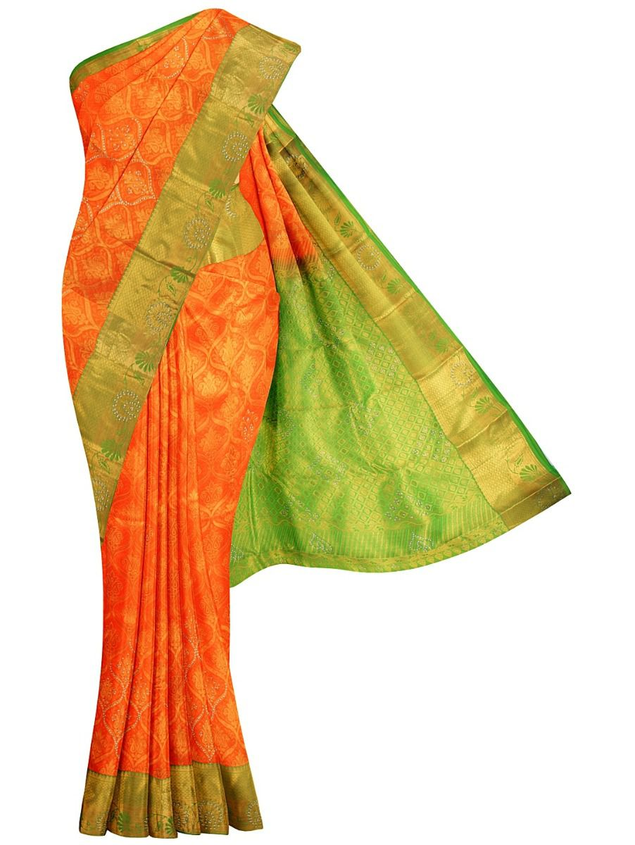 MFA9520529 - Vivaha Wedding Stone work Silk Saree