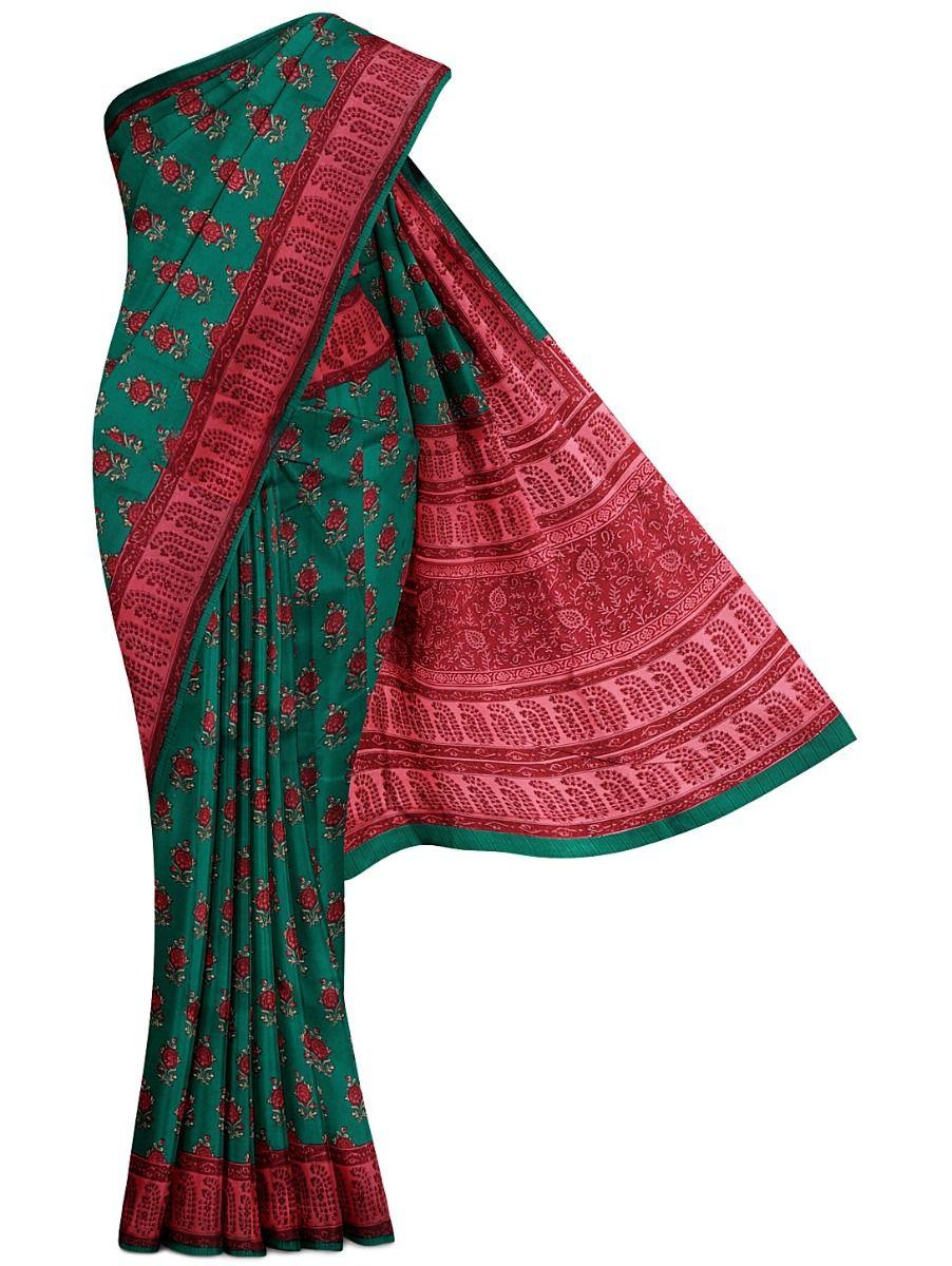 MFA9551251 - Duipon  Printed Silk Saree