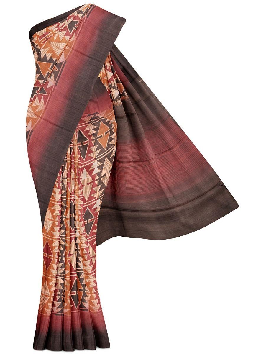 MFB5399845-32101-Fancy Tussar Silk Saree