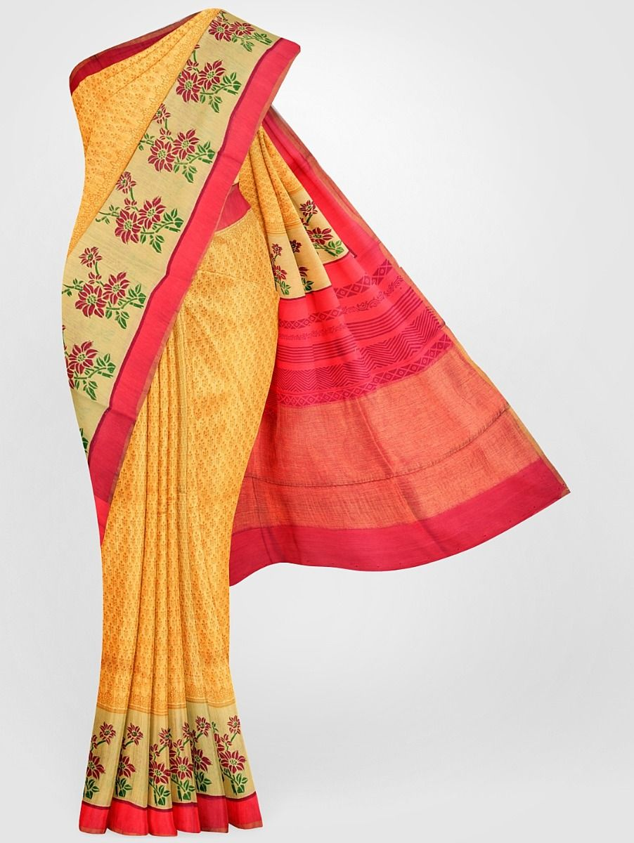 MGB8355680-Tussar Silk Saree