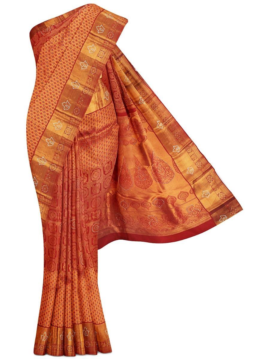MGB8888955 - Vivaha Wedding Stone Work Silk Saree
